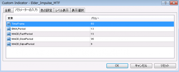 elder impulse mtf2